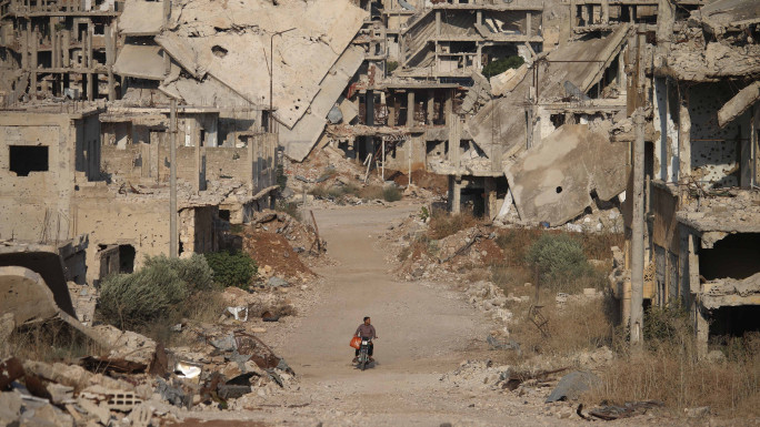 Besieged and starved: How 'the wheel of life' has stopped in Syria's Daraa