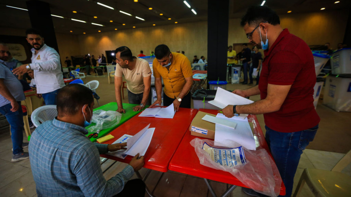 Iraq presidency calls for calm during election vote count limbo