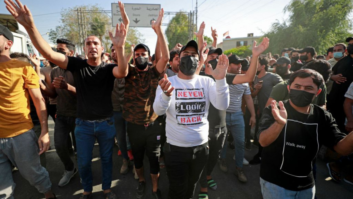 Elections usher in a new wave of political opposition in Iraq