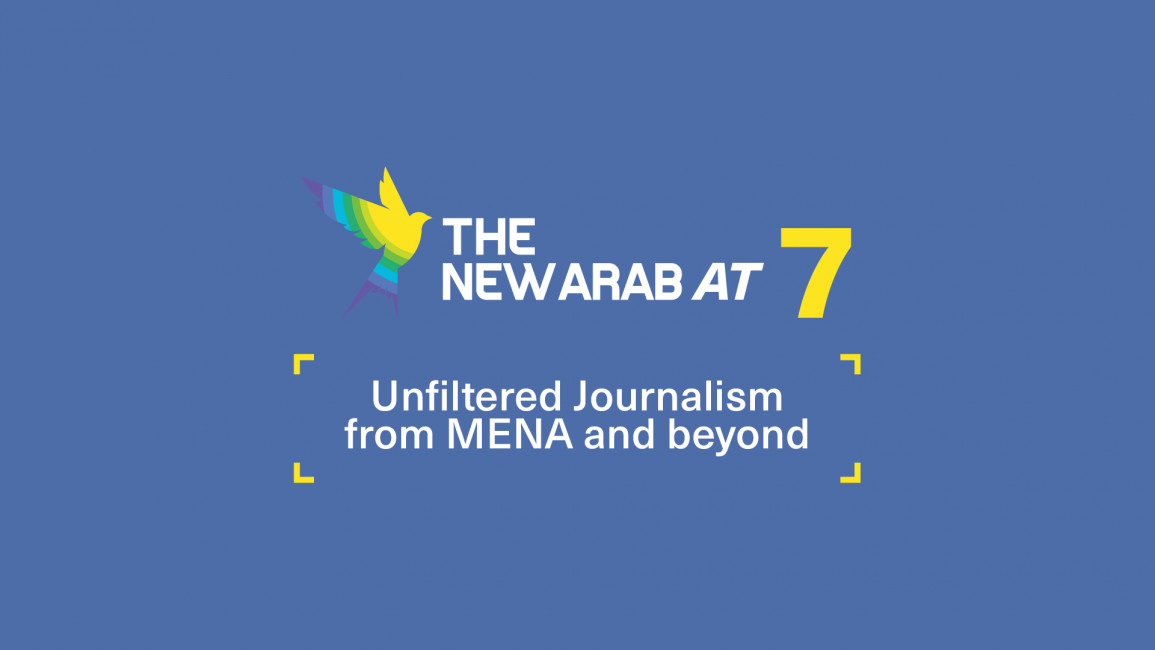 The New Arab at 7: Unfiltered journalism from MENA and beyond (By Abdurrahman Elshayyal)