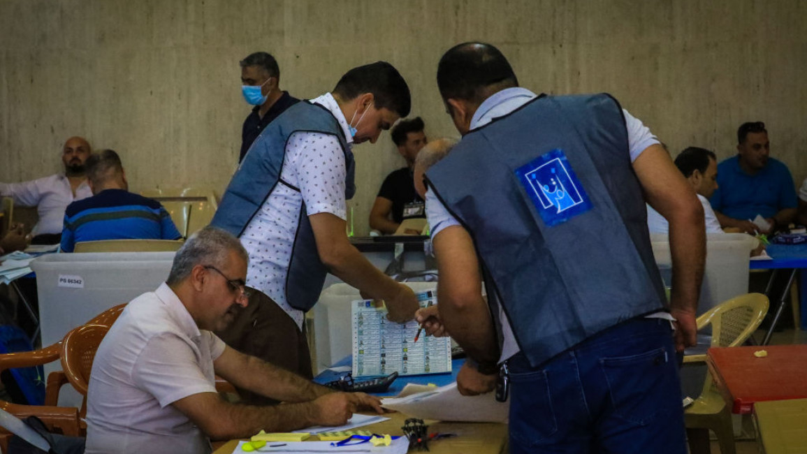 Iraq election commission denies pressure from militias, says results 'normally' subject to change