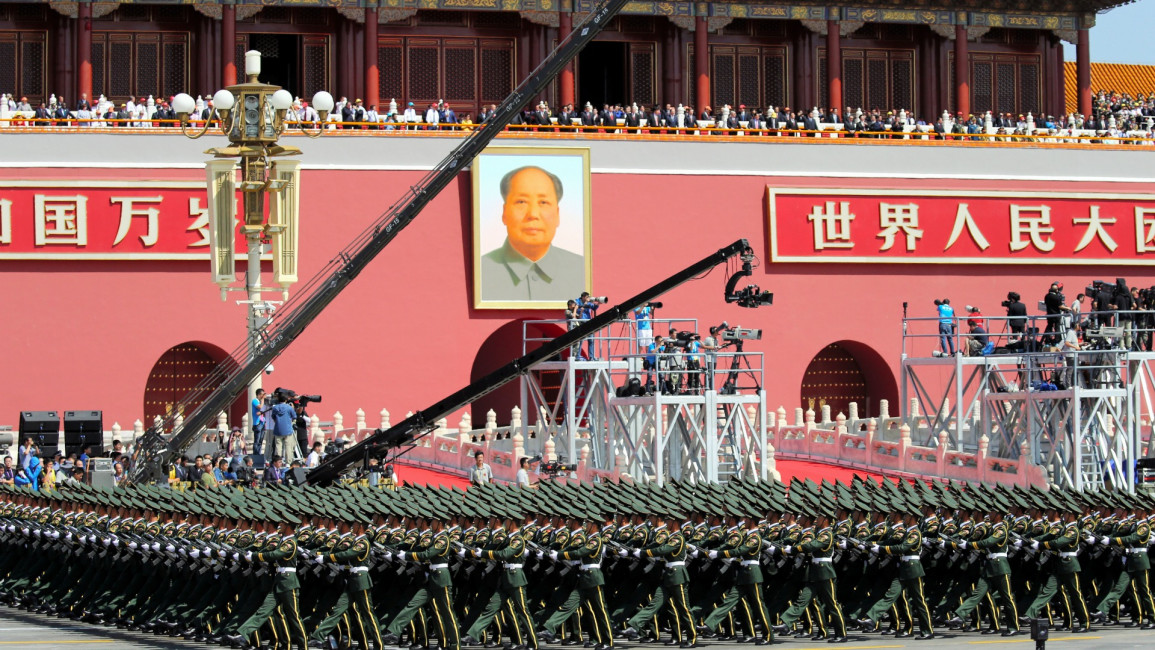 China military parade - Getty