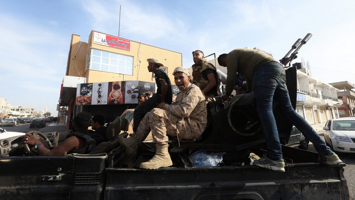 libya government forces