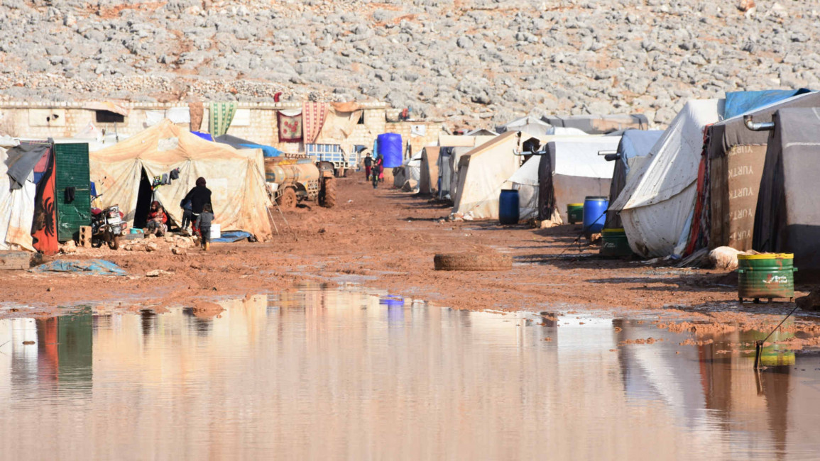 Idlib camp - Getty