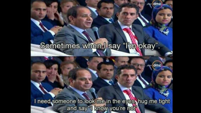 Sisi memes have been a staple of Egyptian Social Media looked at as a form of dissent by a people who are known for their sense of humour [Facebook]