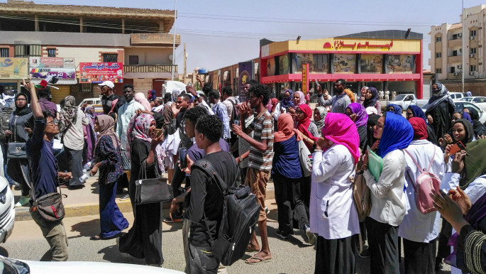 Sudanese women detained and sexually harassed while protesting for change