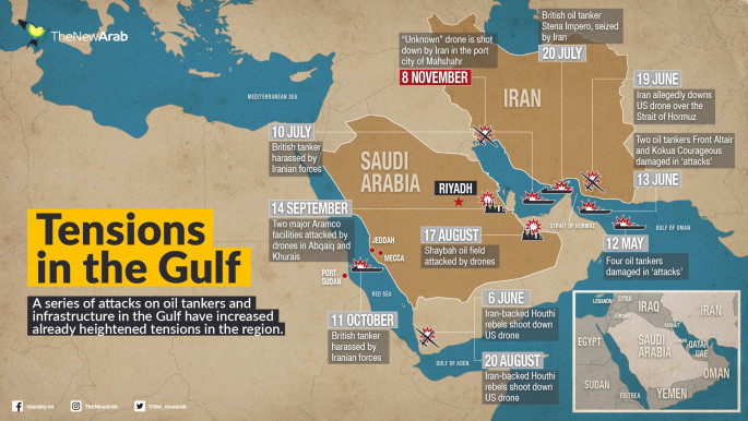 Tensions in the Gulf