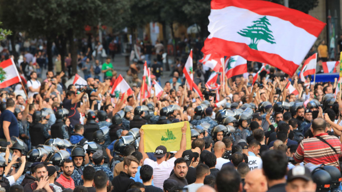 No longer on the fence: Hezbollah endorses the counter-revolution of the corrupt Lebanese ruling class