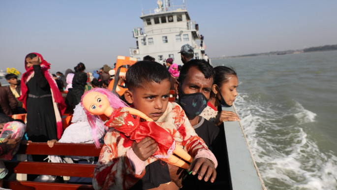 Out of sight, out of mind: Who will protect Rohingyas sent to remote, flood-prone island?