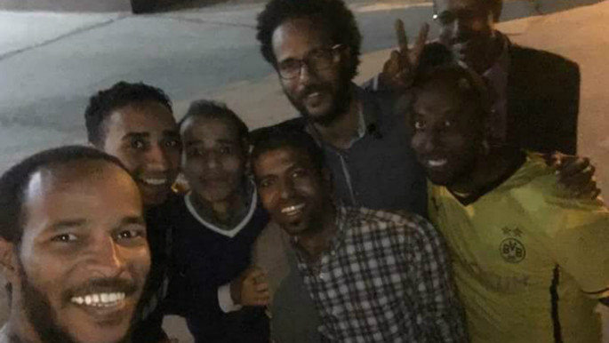 The recently released Nubian activists [Twitter]