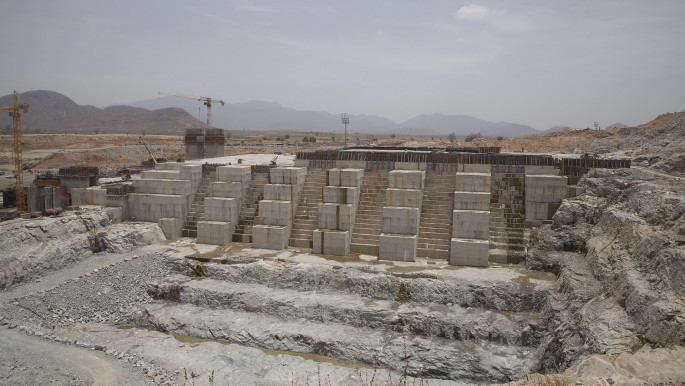 Construction of the Great Ethiopian Renaissance Dam began in 2011. [Getty]