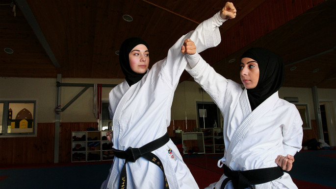 Muslim women can jump: Defying stereotypes in sports